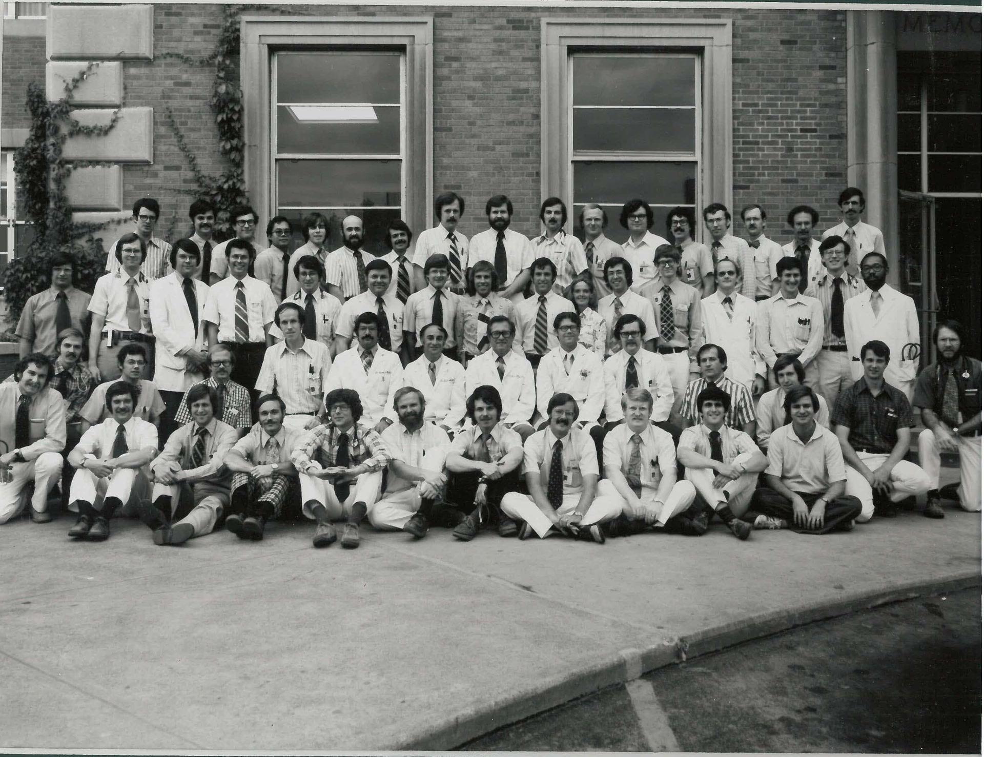 1976 Housestaff Photo