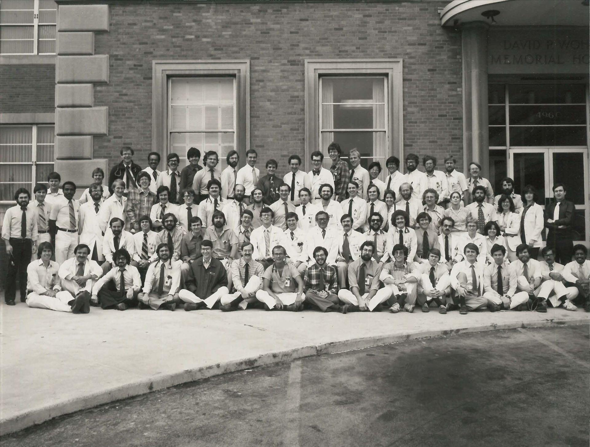 1980 Housestaff Photo