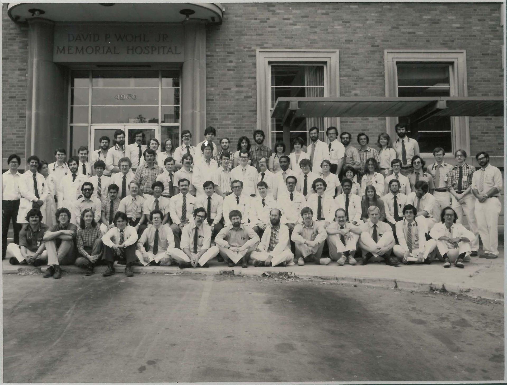 1981 Housestaff Photo