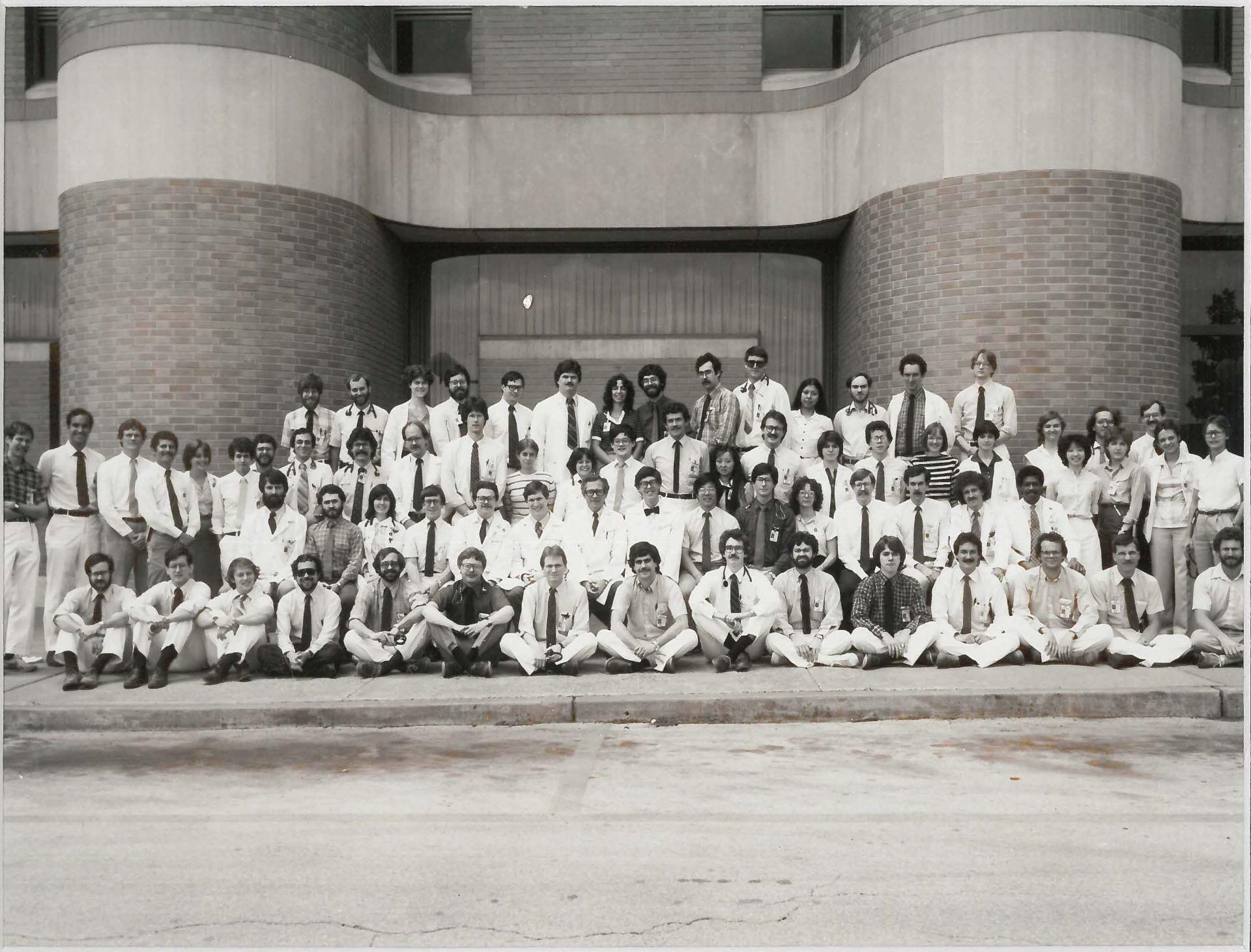 1982 Housestaff Photo