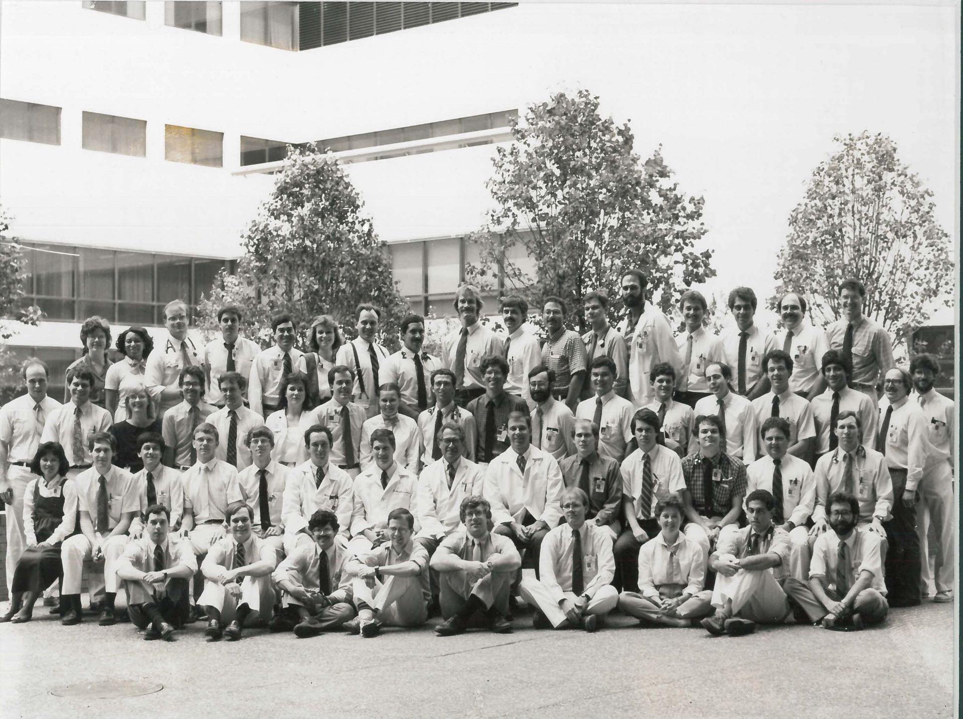 1985 Housestaff Photo