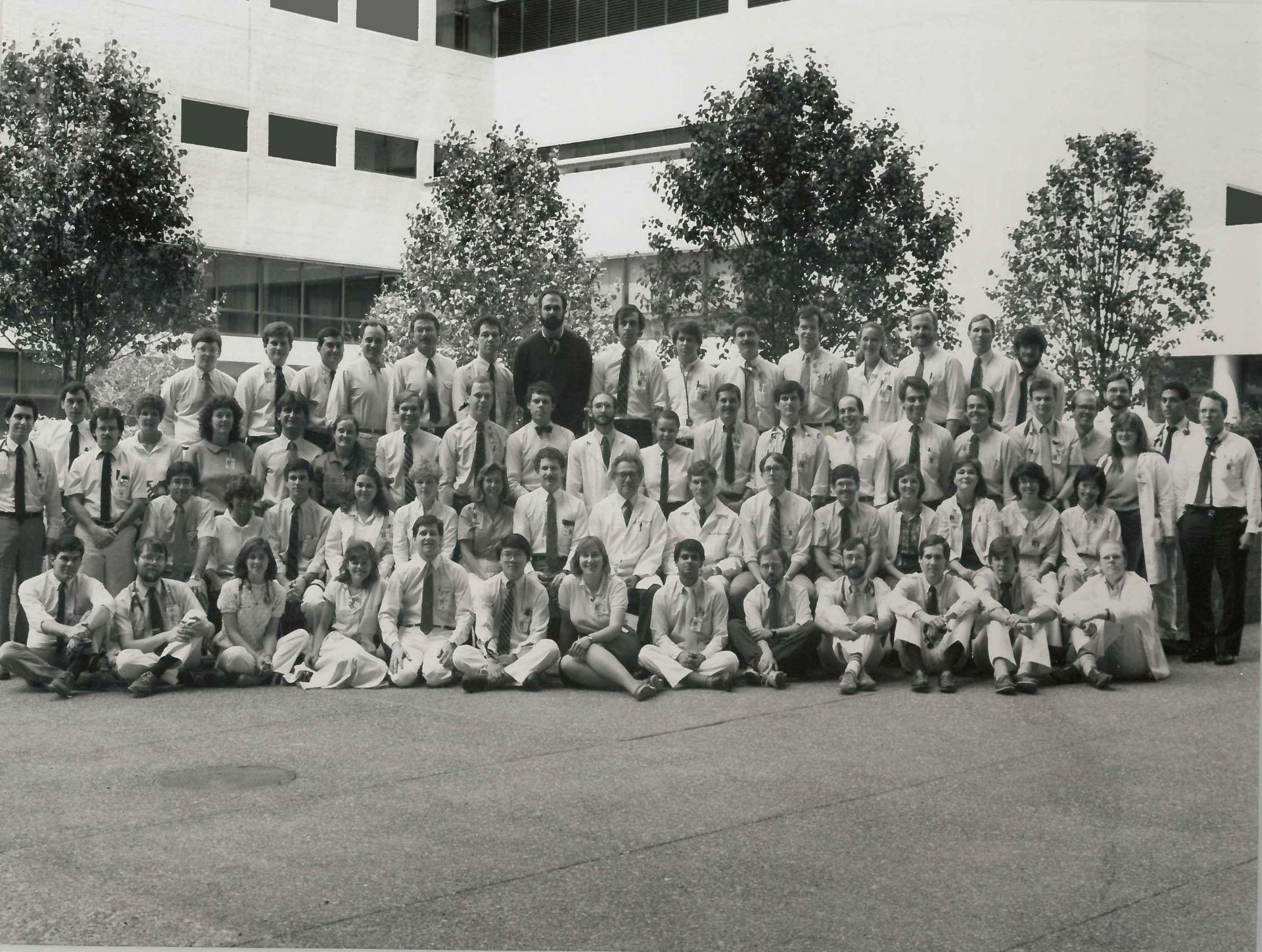 1986 Housestaff Photo
