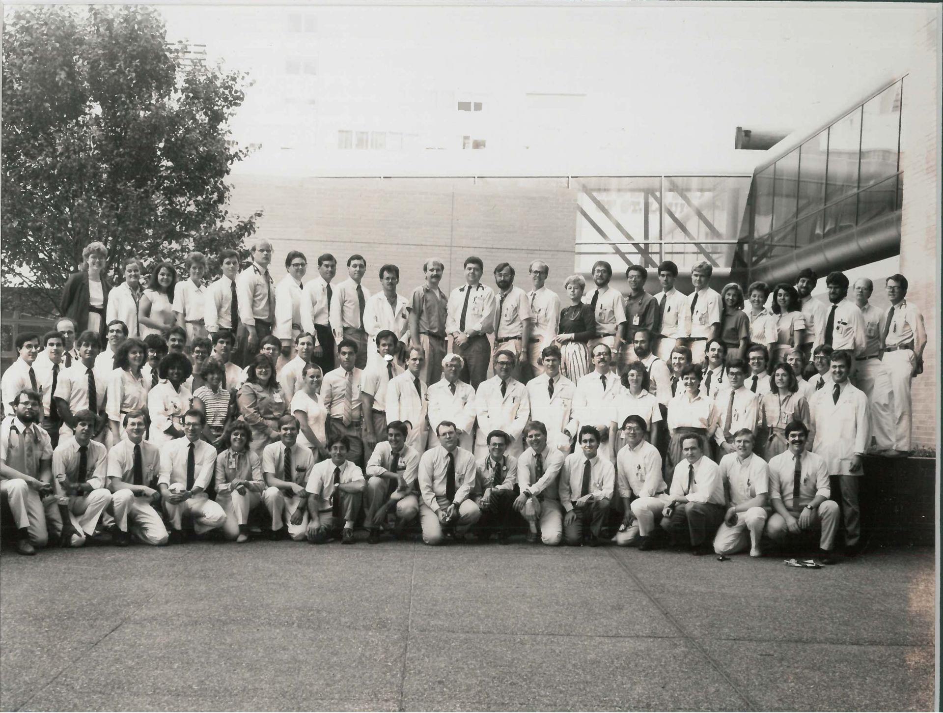 1987 Housestaff Photo