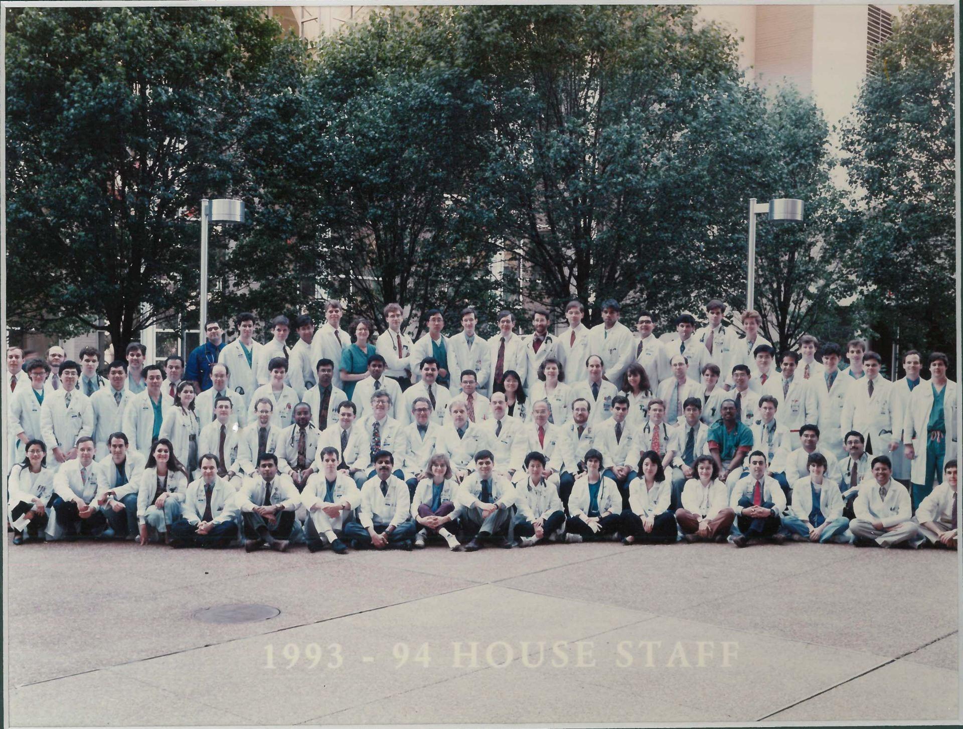1993 Housestaff Photo