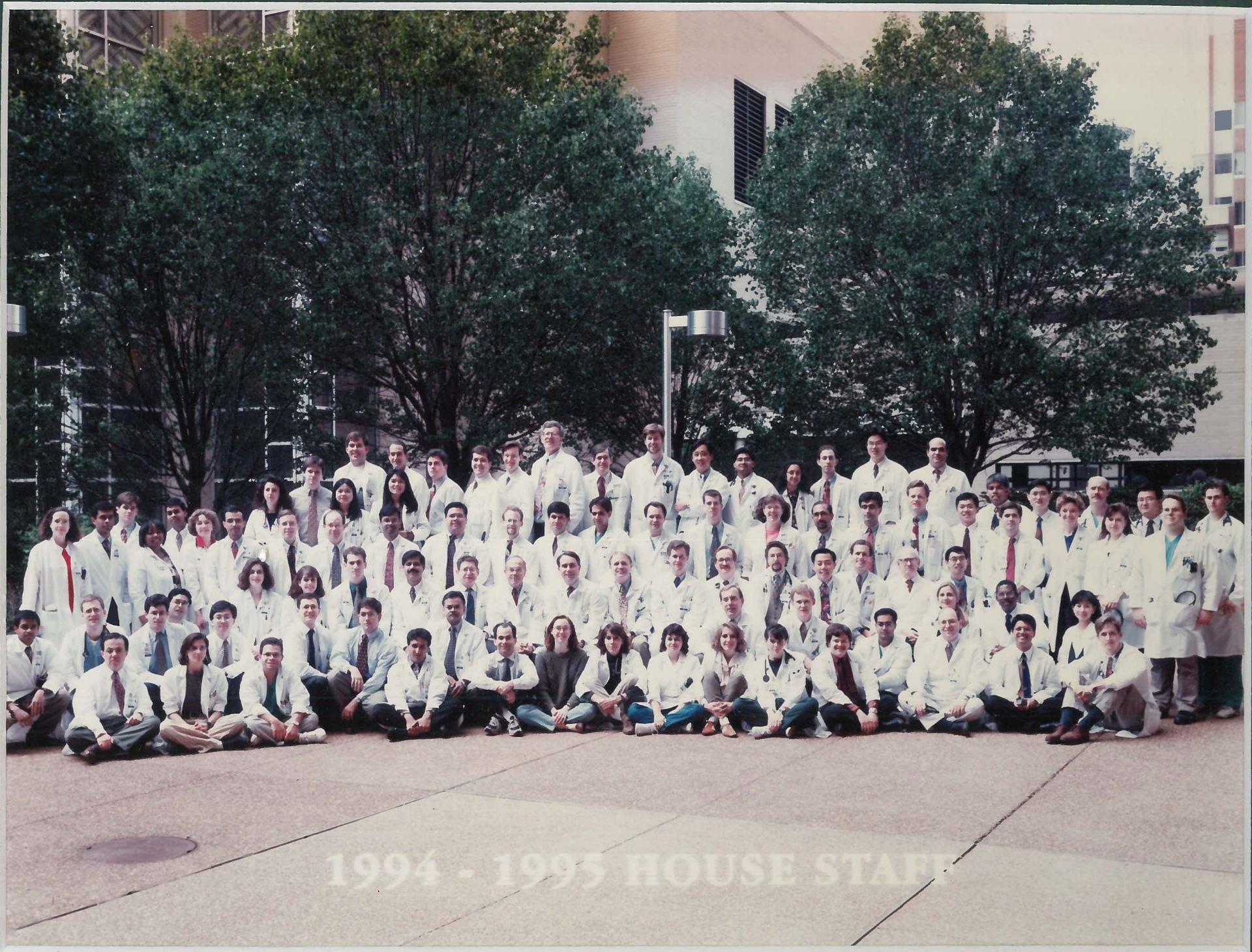 1994 Housestaff Photo