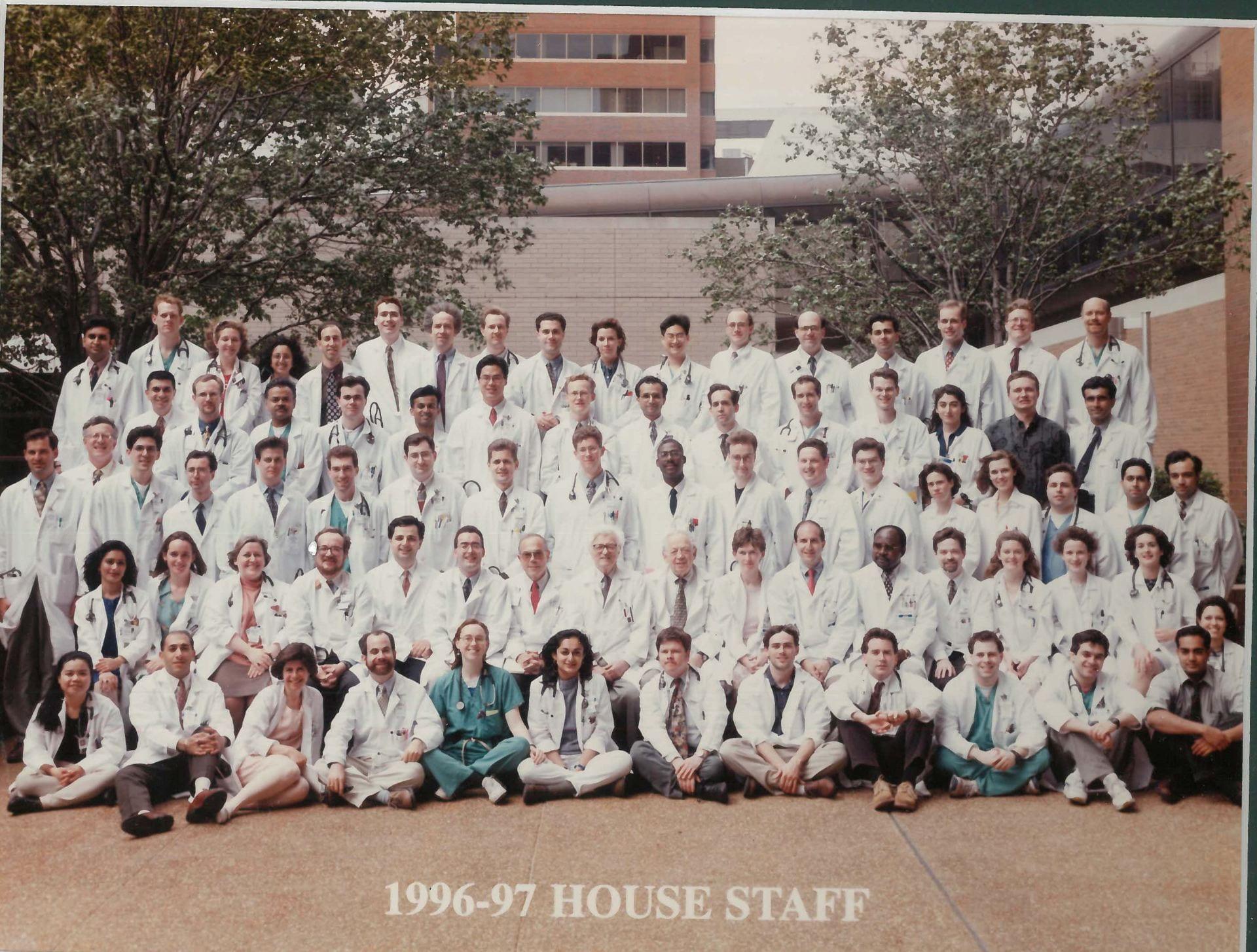 1996 Housestaff Photo