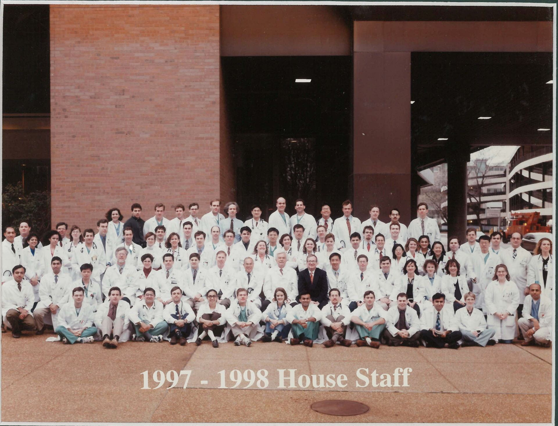 1997 Housestaff Photo