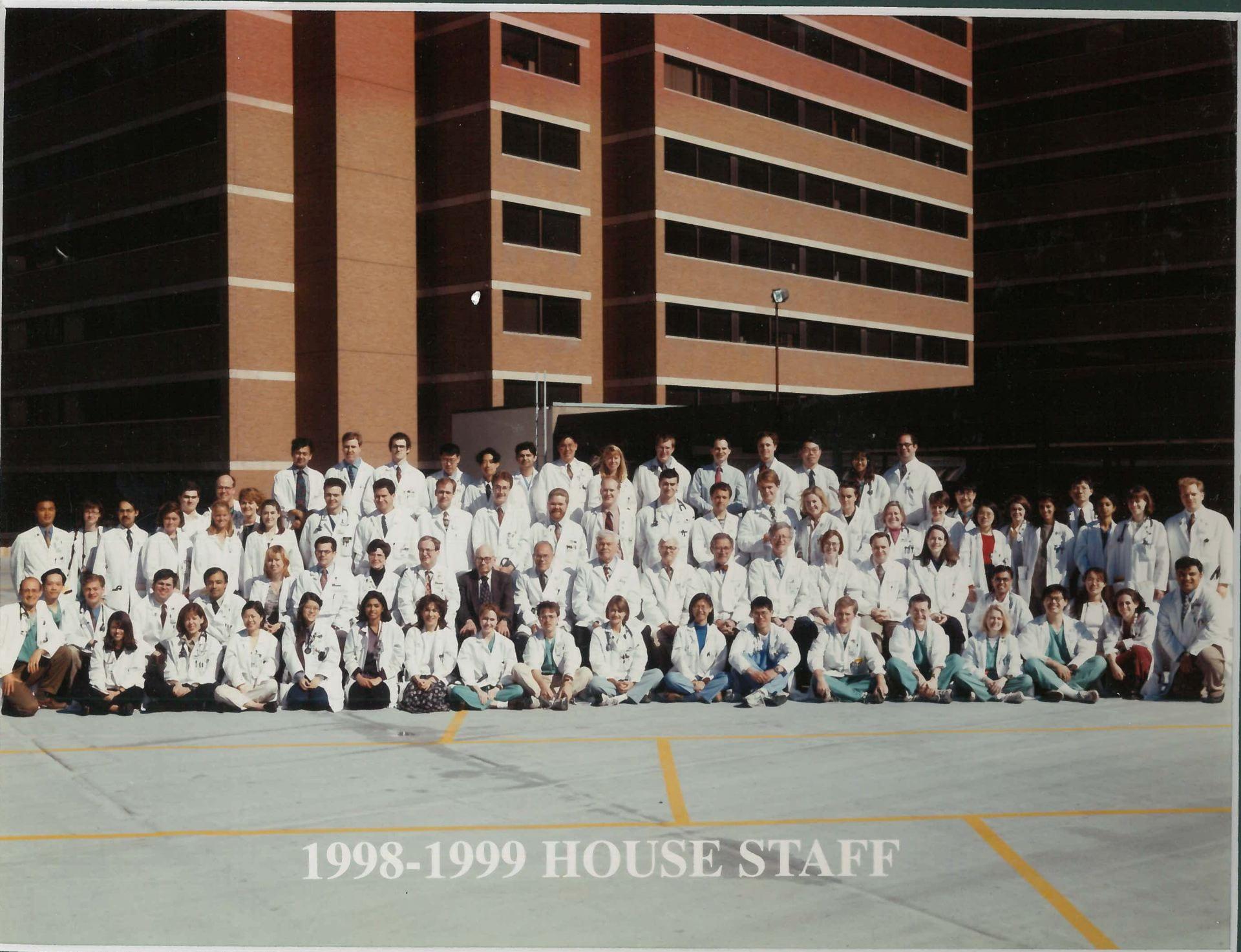 1998 Housestaff Photo