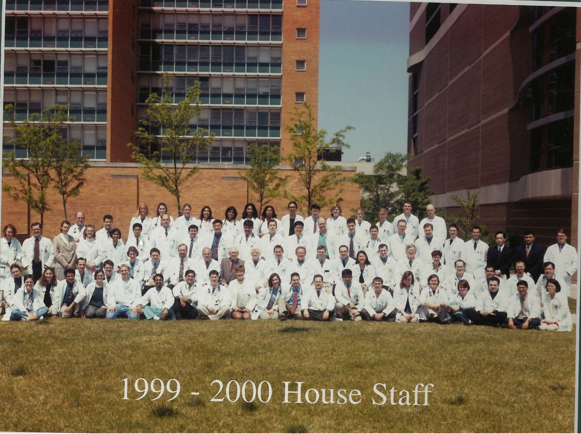 1999 Housestaff Photo