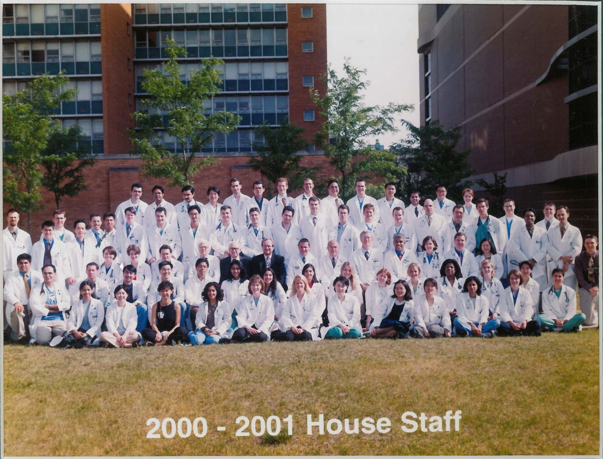 2000 Housestaff Photo