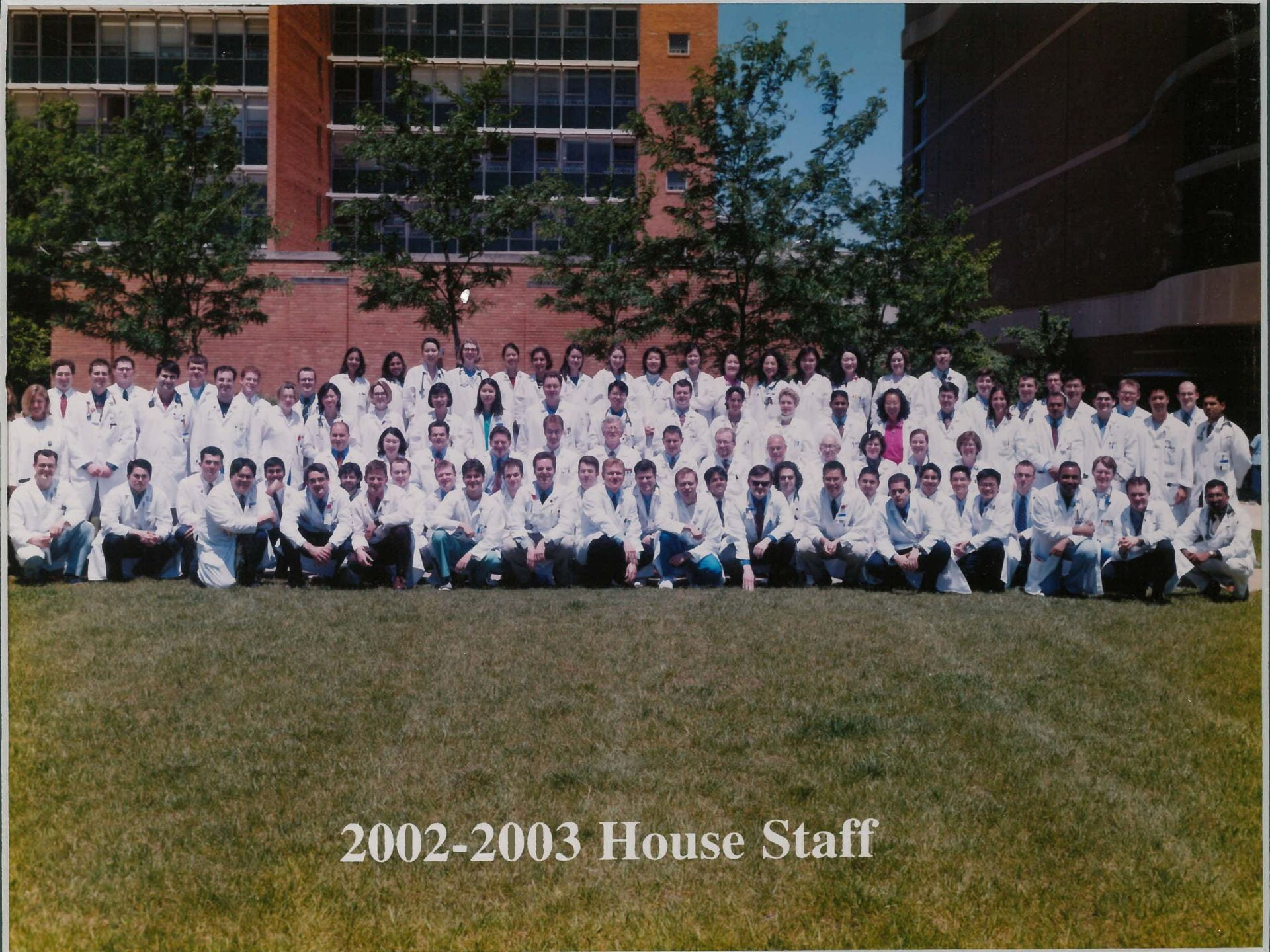 2002 Housestaff Photo