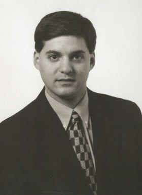 Daniel Jasper, MD: 1997-1998 Chief Resident