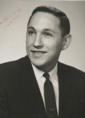 Harold Joseph, MD: 1954-1955 Chief Resident