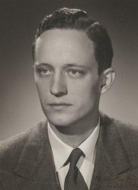 M. Kenton King, MD: 1954-1955 Chief Resident