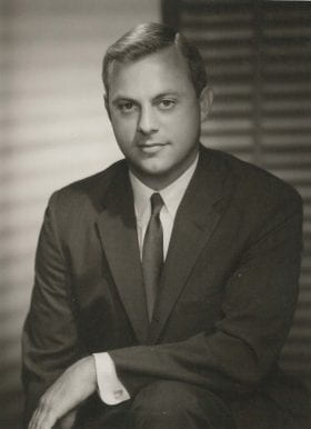Douglas Lilly, MD: 1963-1964 Chief Resident