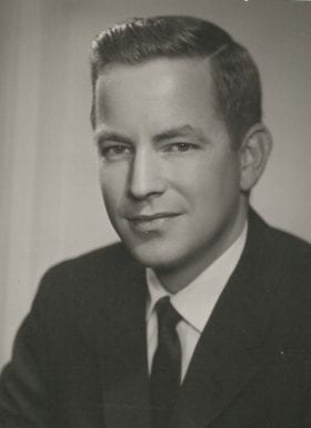 William Magee, MD: 1955-1956 Chief Resident