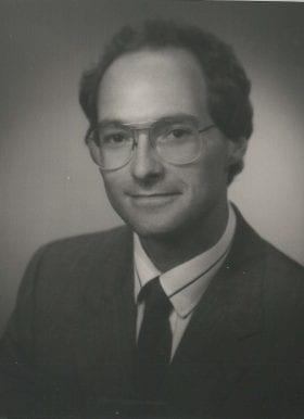 John Mitchell, MD: 1989-1990 Chief Resident