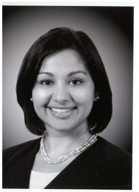 Rashmi Mullur, MD: 2007-2008 Chief Resident