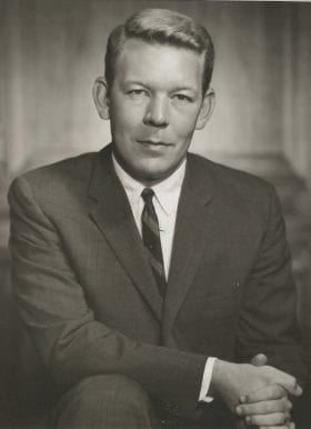 Gordon Newton, MD: 1962-1963 Chief Resident