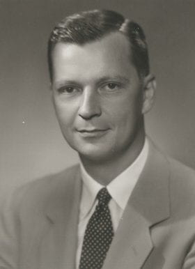 James Nickel, MD: 1952-1953 Chief Resident