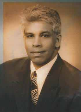 Subramanian Paranjothi, MD: 2000-2001 Chief Resident