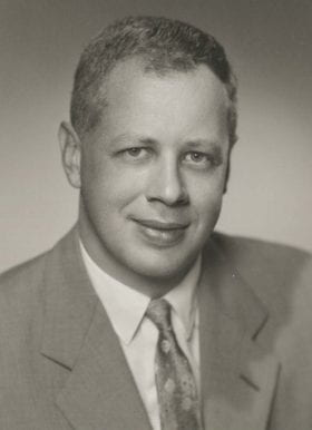 Charles Parker, MD: 1958-1959 Chief Resident