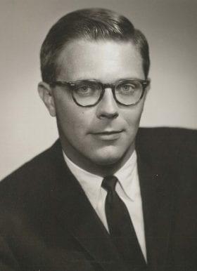 James Peden Jr., MD: 1960-1961 Chief Resident