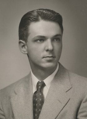 William Perry, MD: 1950-1951 Chief Resident
