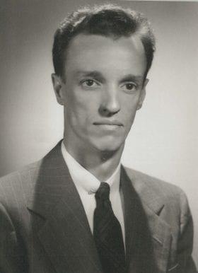 Edward Reinhard, MD: 1942-1943 Chief Resident