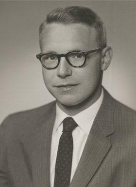 Frank Riddick Jr., MD: 1959-1960 Chief Resident