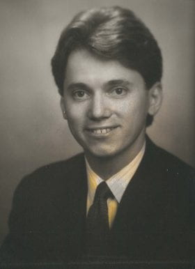 Michael Ridner, MD: 1988-1989 Chief Resident