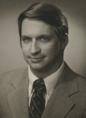 Ernest Rouse III, MD: 1975-1976 Chief Resident