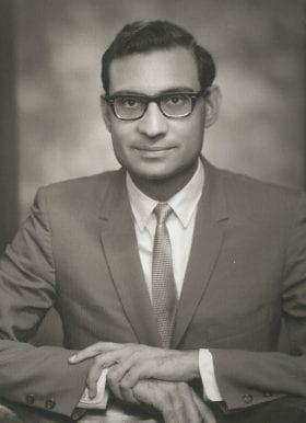 Shabbir Safdar, MD: 1967-1968 Chief Resident