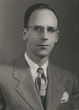 Llewellyn Sale Jr., MD: 1944-1946 Chief Resident