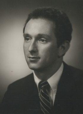Robert Saltman, MD: 1985-1986 Chief Resident