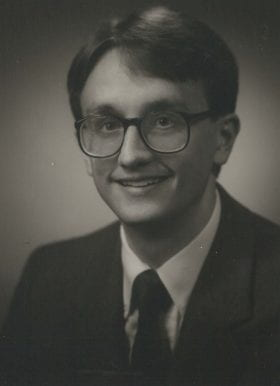 Clay Semenkovich, MD: 1986-1987 Chief Resident
