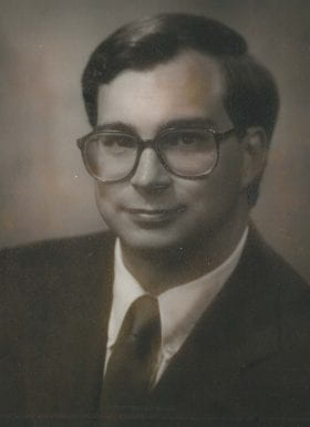 Rand Sommer, MD: 1984-1985 Chief Resident