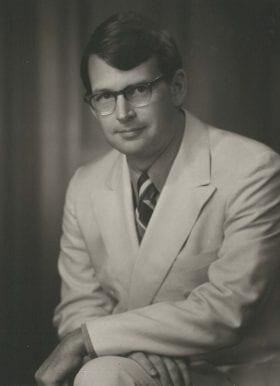 James Turner Jr., MD: 1970-1971 Chief Resident