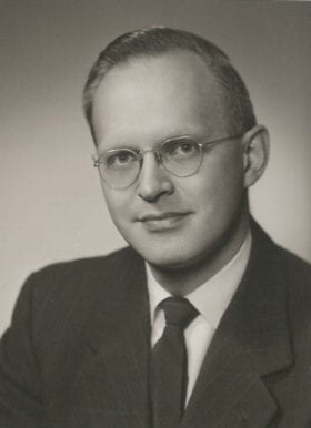 John Vavra, MD: 1957-1958 Chief Resident