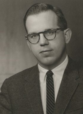 James Walsh, MD: 1959-1960 Chief Resident