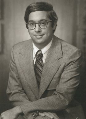 Alan Weiss, MD: 1972-1973 Chief Resident
