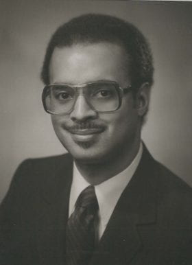 Roy Jerome Williams, Jr., MD: 1981-1982 Chief Resident