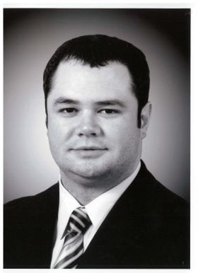 Chad Witt, MD: 2008-2009 Chief Resident