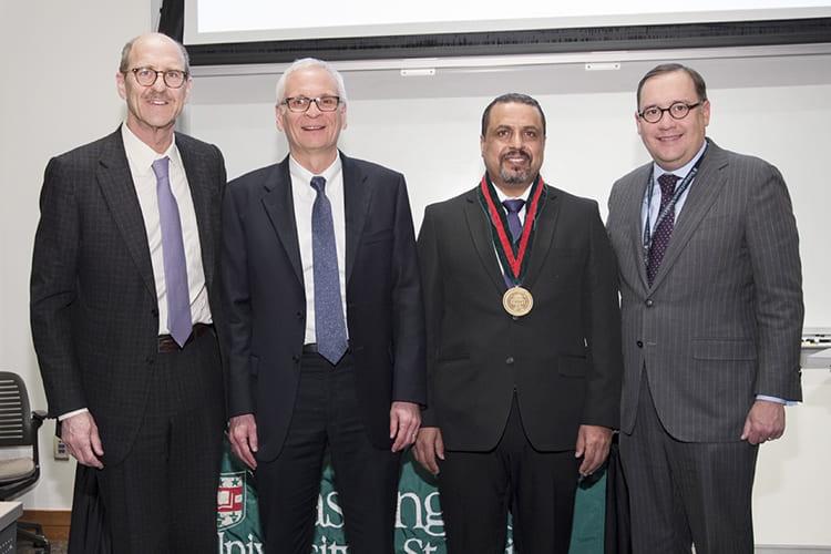 Dr. Yousef Abu-Amer, Dr. J. Albert Key Professor of Orthopaedics