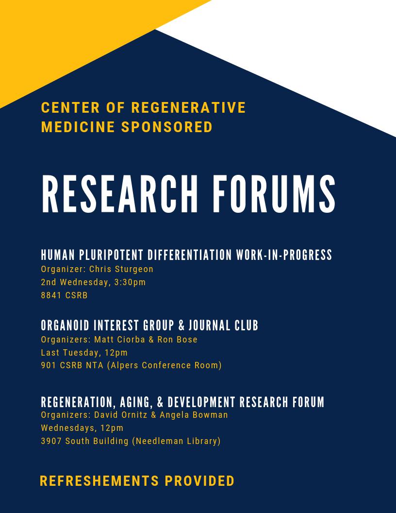 Home | Center of Regenerative Medicine | Washington