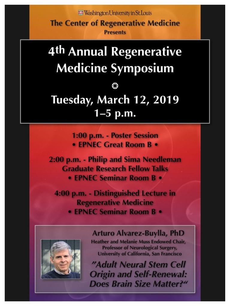 4th Annual Regenerative Medicine Symposium | Center of Regenerative