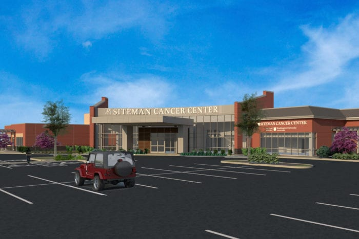 Siteman Cancer Center breaks ground in north St. Louis County