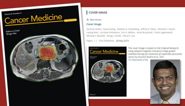 Dr. Rudra publishes research and selected as journal cover image