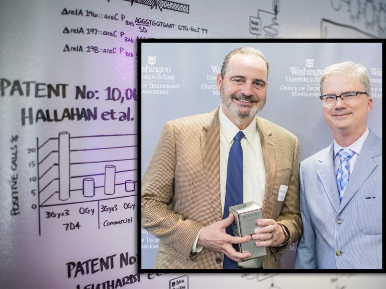 Hallahan receives recognition for patents