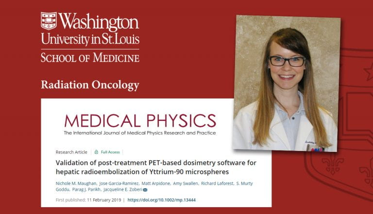 Maughan publishes in Journal of Medical Physics